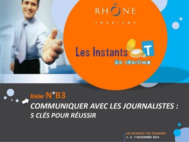 Stéphanie ENGELVIN  Attachée de presse  pour Rhône Tourisme depuis janvier 2011  certifiée en juillet 2013 par le CNFPJ en...