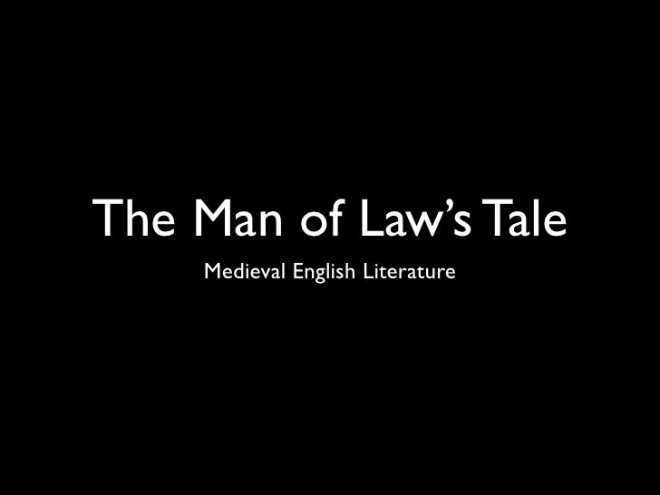 The Man of Law's Tale    Medieval English Literature