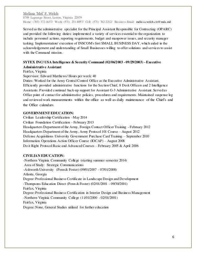 Medical Administrativeist Resume Sample Support Objective Army