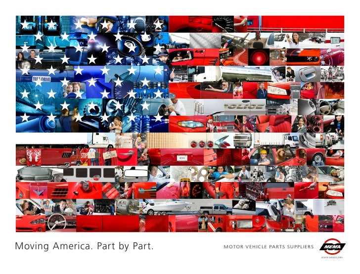 Moving America. Part by Part.   MOTOR VEHICLE PARTS SUPPLIERS                                                             ...