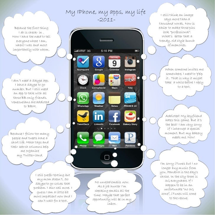 My IPhone, my apps, my life           I still think an image                                                 -2011-       ...