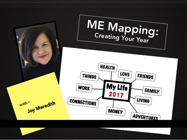ME MappingCreating Your Year ME Mapping:Creating Your Year with~ Joy Meredith My Life 2017