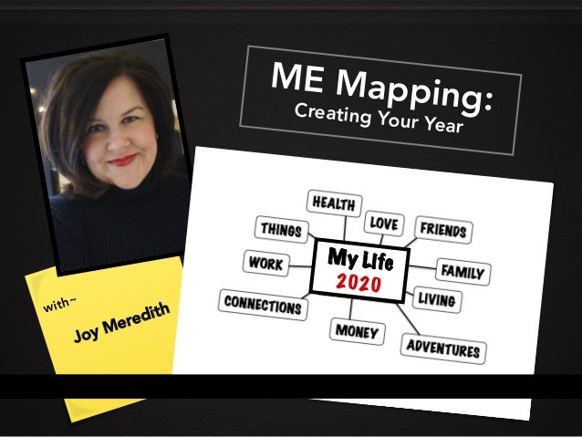 ME MappingCreating Your Year ME Mapping:Creating Your Year with~ Joy Meredith My Life 2020