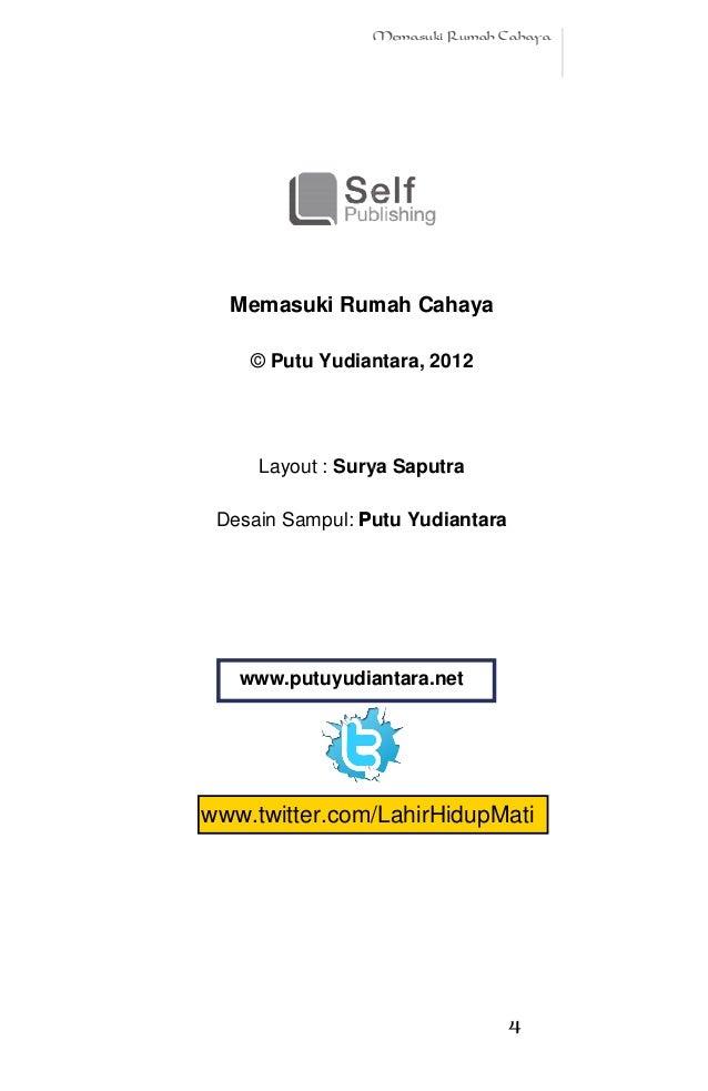 Memasuki rumah cahaya by putu yudiantara (ebook gratis) Slide 3