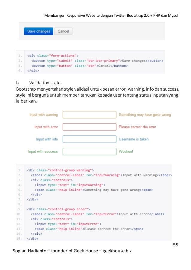 Membangun responsive website dengan twitter bootstrap 2.0