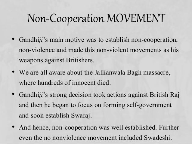 Non-cooperation Movement: Introduction, Causes, Result and Importance