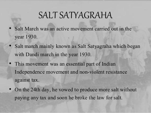MAHATMA GANDHI Non Violent Resistance Satyagraha