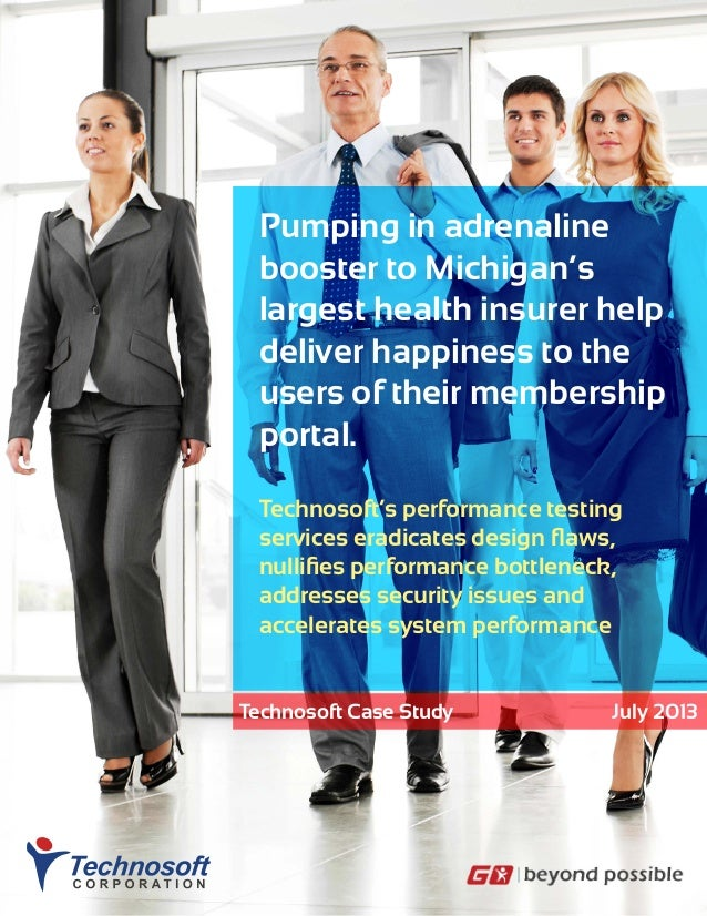 Pumping in adrenaline booster to Michigan's largest health insurer help deliver happiness to the users of their membership...