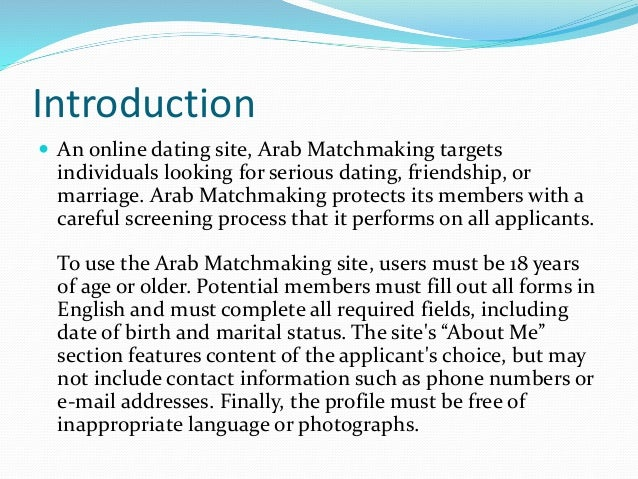 Leading website for Arab to Arab marriages and matchmaking