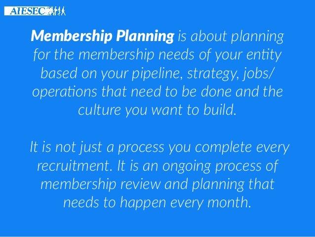 GET: Membership Planning Slide 3