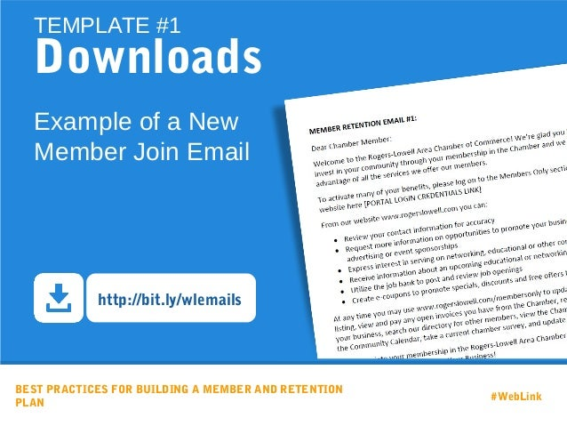 email retention policy template - best practices for building a member and retention strategy