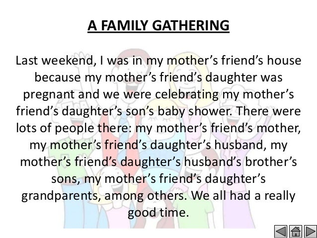My Mother Summary