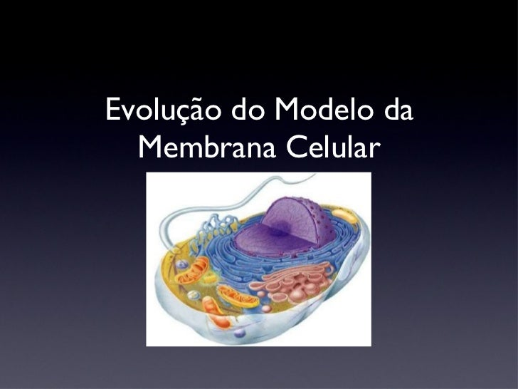 Evolução do Modelo da Membrana Celular
