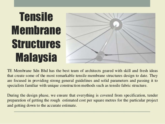 Tensile Membrane Structures Malaysia ...  sc 1 st  SlideShare & Membrane structures