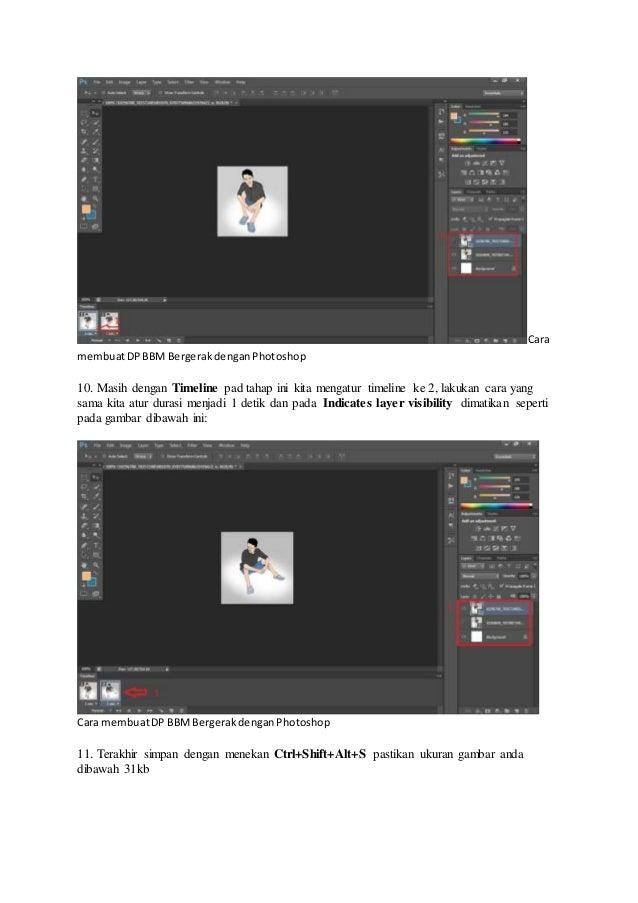 Membuat Animasi Gif Dengan Photoshop