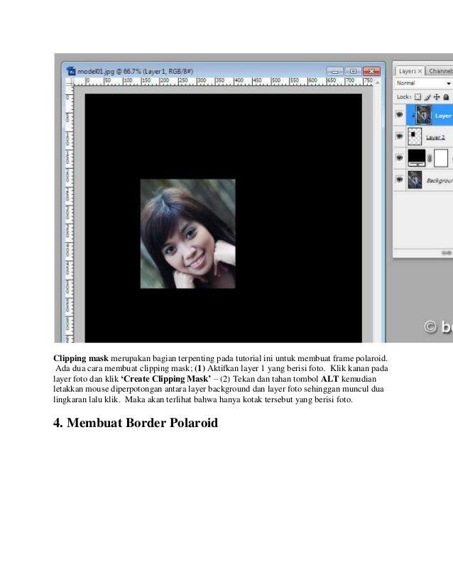 Cara Membuat Ukuran Foto Polaroid - Q Soalan