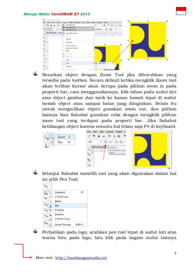 Membuat Tiruan Logo PU menggunakan CorelDRAW X7 - Desain I