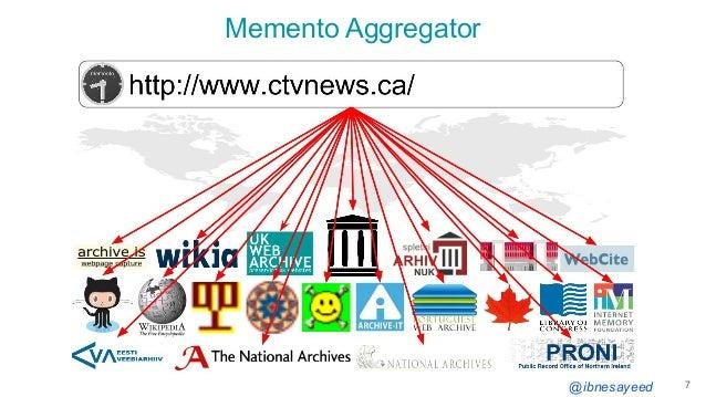 @ibnesayeed Memento Aggregator 7