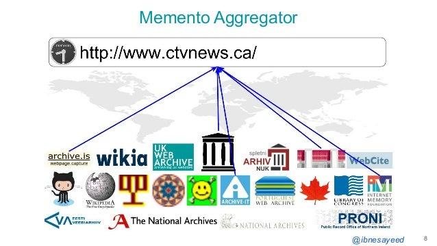 @ibnesayeed Memento Aggregator 8