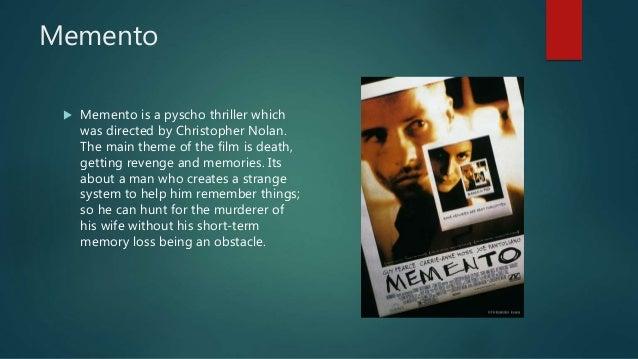 memento video essay memento  memento