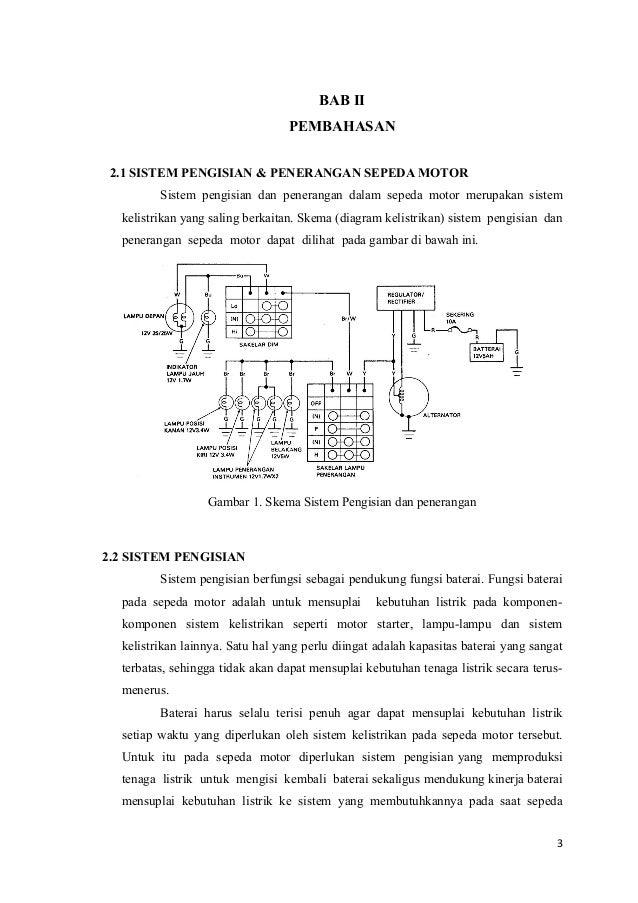 Sistem Pengisian Pada Motor