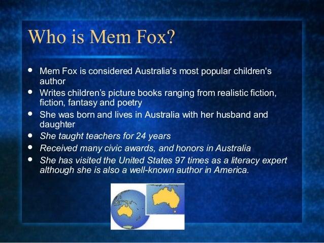 Mem fox 2 Slide 2