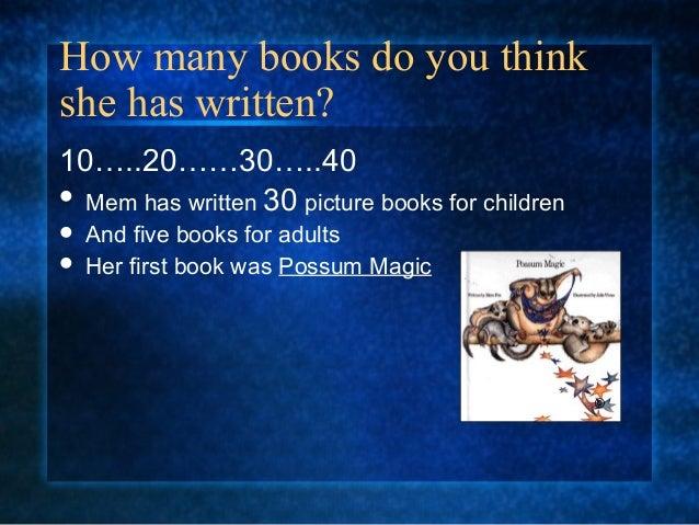 Mem fox 2 Slide 3