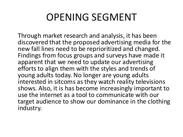 marketing research memo The market research framework expired on 7 april 2018 future market research  requirements should be fulfilled via the research marketplace dynamic.
