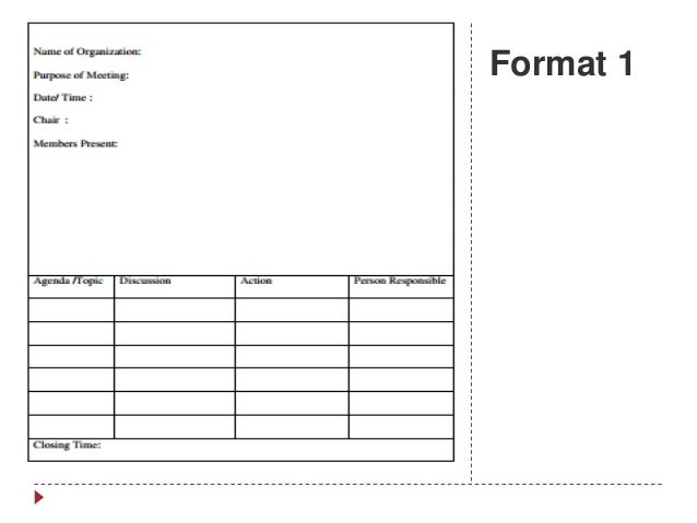Format 1