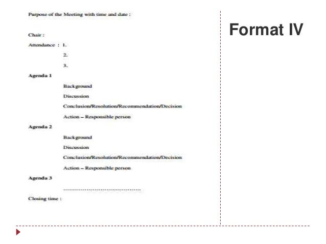 Format IV