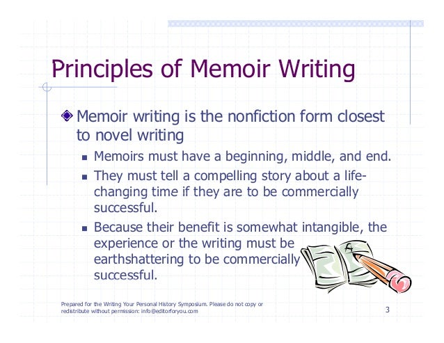 How to Write a Memoir that Someone Other than Your Mom will Want to R…
