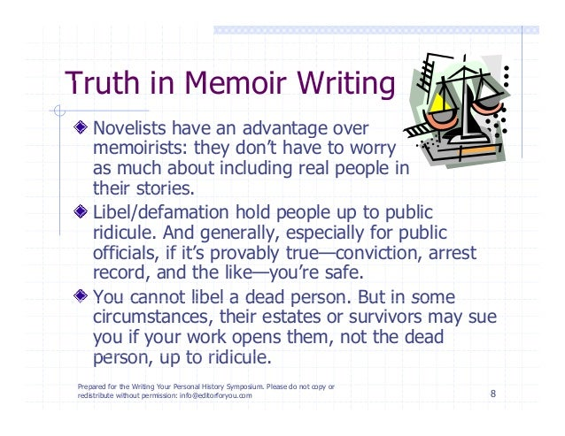 How to Write a Memoir about Someone Else