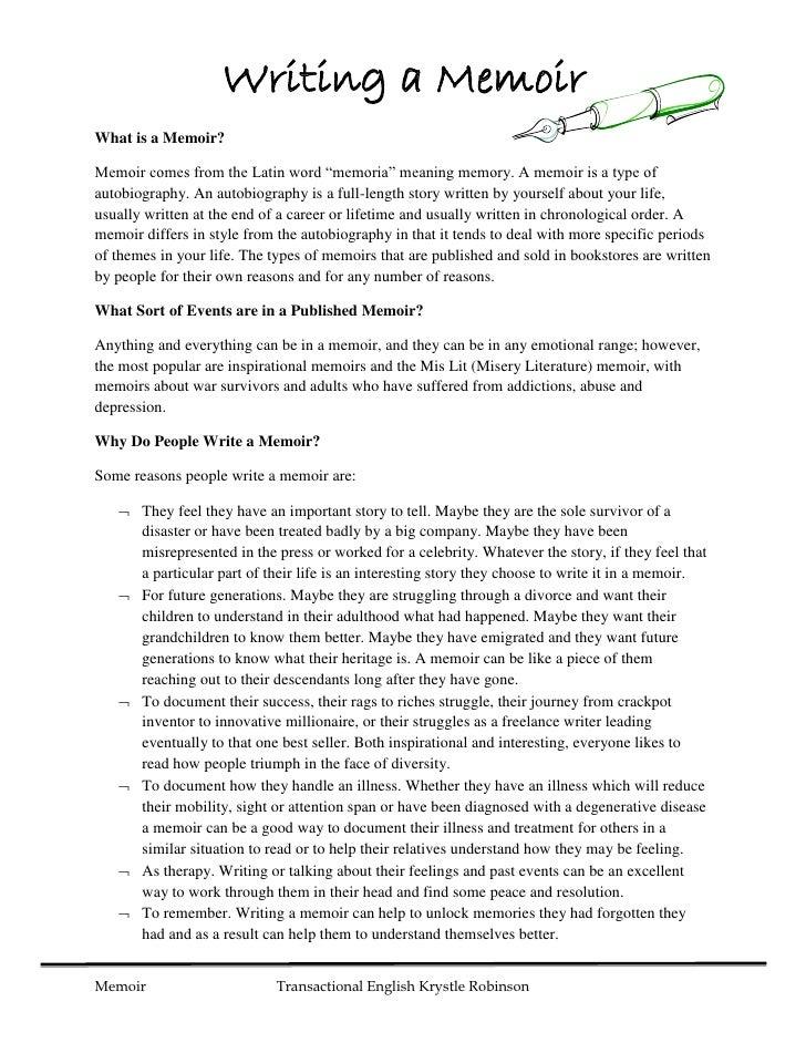 how to write a memoir essay - Vatoz.atozdevelopment.co