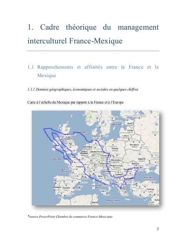 Memoire management interculturel france mexique - Chambre de commerce franco mexicaine ...