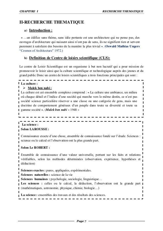 Conception D Un Centre De Loisirs Scientifique Ecologique A Ghardaia
