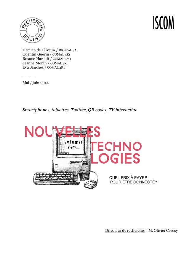 Damien de Oliveira / DIGITAL 4A  Quentin Guérin / COMAL 4R1  Roxane Harault / COMAL 4M1  Jeanne Monin / COMAL 4R1  Eva San...