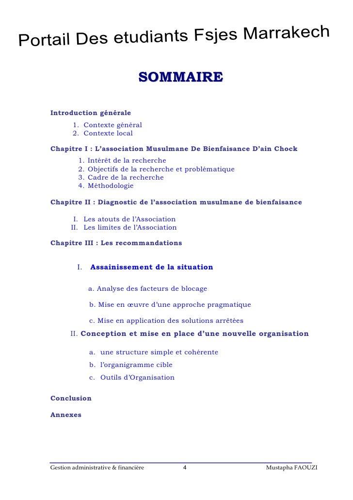 Portail Des etudiants Fsjes Marrakech                                   S O M M A IR E   Introduction générale           1...
