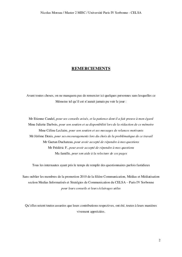 Bien-aimé Memoire M2 MISC Nicolas Moreau MR77