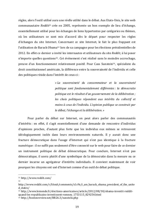 Dissertation science politique