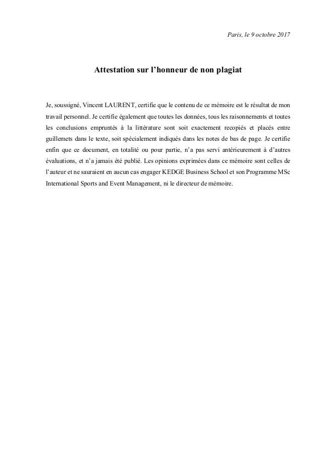 Memoire De Recherche E Sport Et Clubs Sportifs Professionnels 31 1