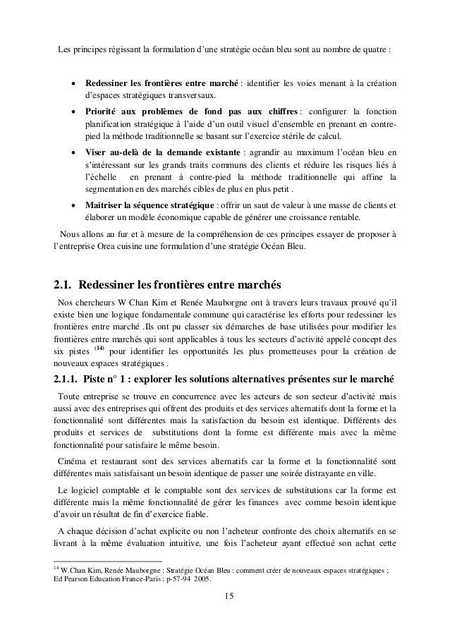 Strat gie oc an bleu cas de la cuisine int gr e secteur for Configurer cuisine ikea