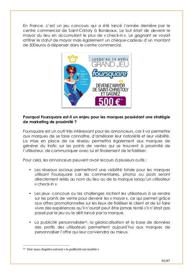 34/87 En France, c'est un jeu concours qui a été lancé l'année dernière par lecentre commercial de Saint-Cristoly à Bord...