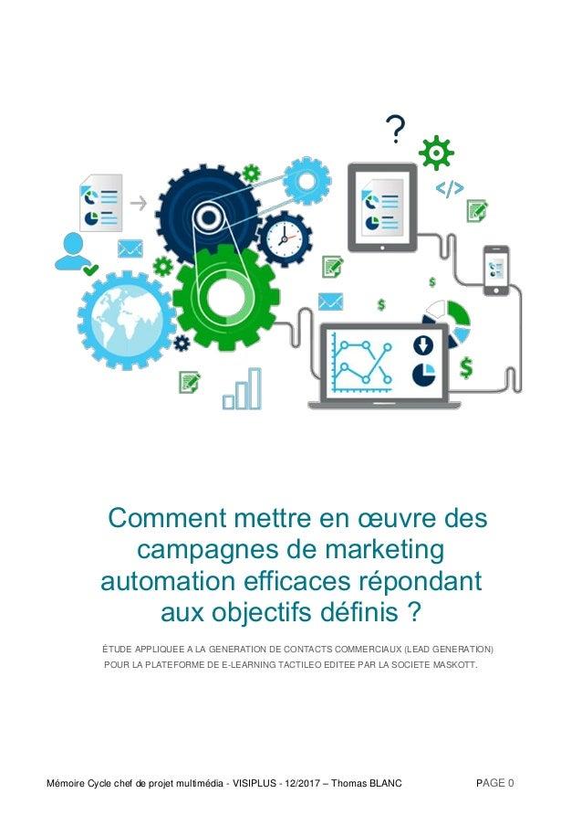 Plateforme De Marketing Automation