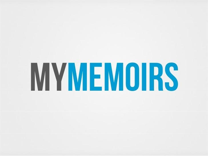 MYMEMOIRS