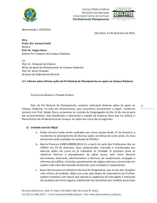 Serviço  Público  Federal     Ministério  da  Educação   Universidade  Federal  de  São  Paulo    ...
