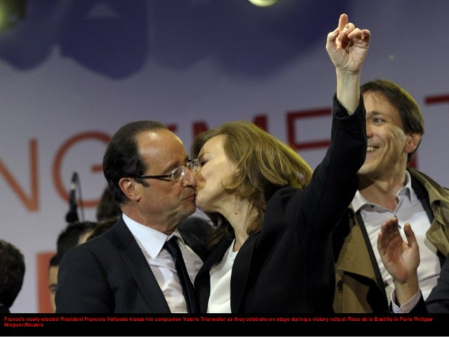 Francois Illas New Tradition: France's Newly-elected President Francois Hollande