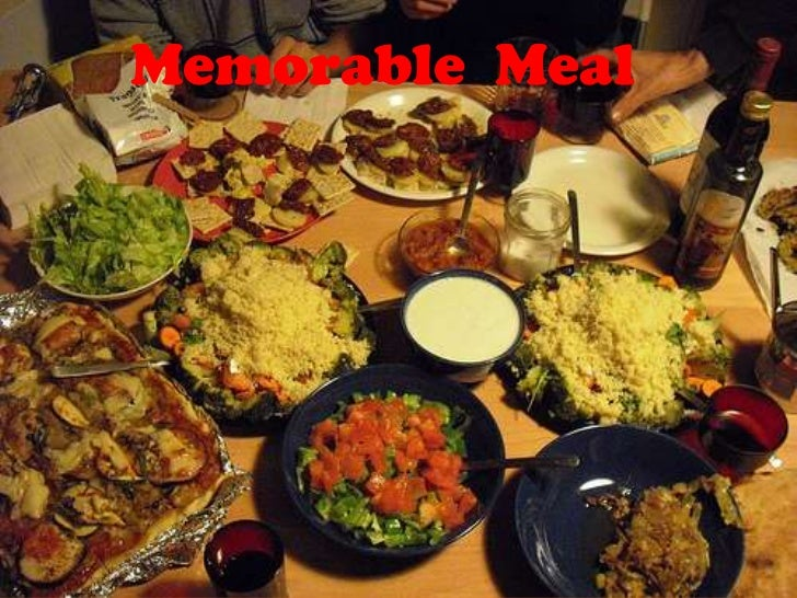 Memorable  Meal<br />