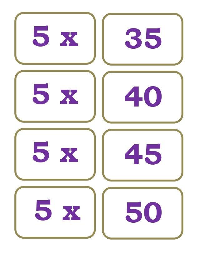 Tablas De Multiplicar 8. Domino De Tablas De Multiplicar ...