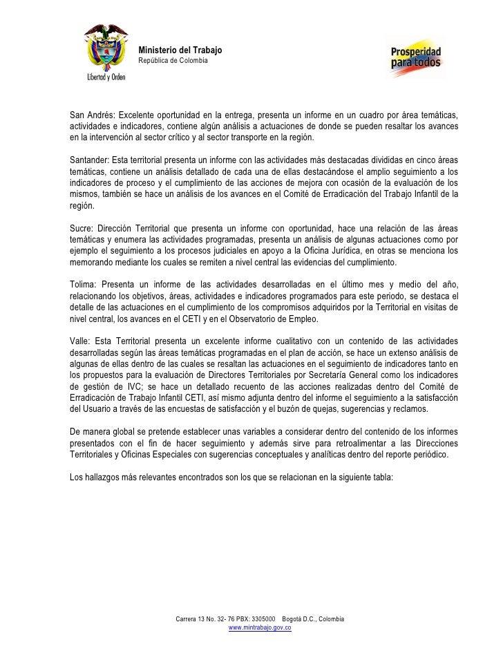 Ministerio del Trabajo                   República de ColombiaSan Andrés: Excelente oportunidad en la entrega, presenta un...
