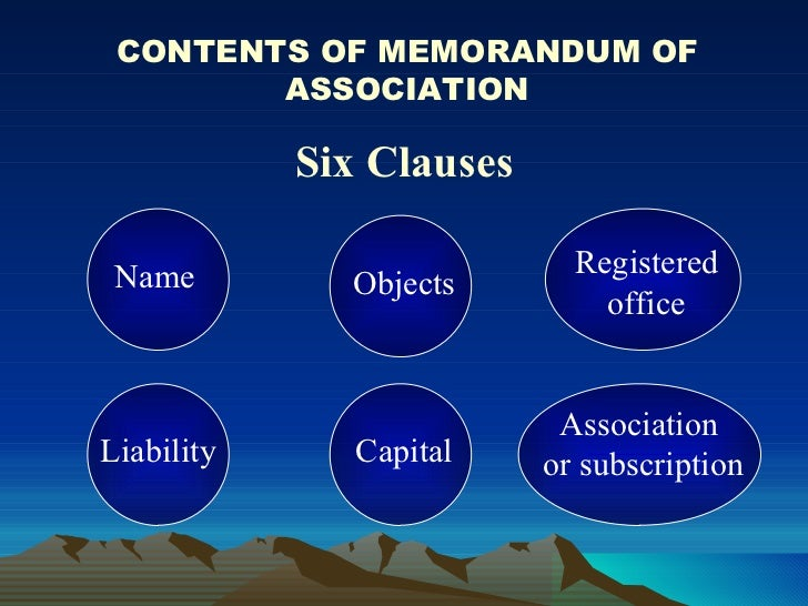 what is memorandum and articles of association malaysia